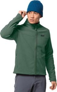 Zielona bluza Jack Wolfskin