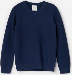 Sweter Reserved z bawełny