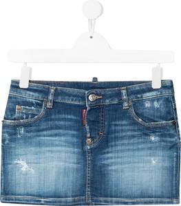 Spódniczka dziewczęca Dsquared2 z jeansu