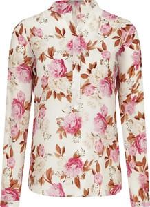 Koszula Marella w stylu casual z jedwabiu ze stójką
