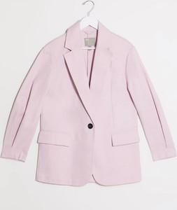Różowy płaszcz Asos