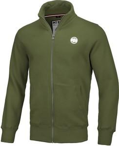 Zielona bluza Pit Bull z weluru