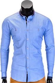 Błękitna koszula ombre clothing