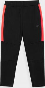 Czarne spodnie dziecięce 4F dla chłopców