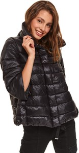 Czarna kurtka Top Secret w stylu casual