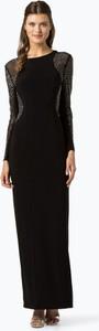 Czarna sukienka Apriori maxi z okrągłym dekoltem