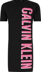 Czarna sukienka dziewczęca Calvin Klein Underwear