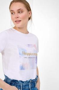 T-shirt ORSAY z okrągłym dekoltem z dzianiny z krótkim rękawem