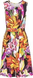 Sukienka bonprix BODYFLIRT boutique bez rękawów midi
