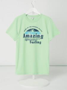 Koszulka dziecięca Review For Teens z krótkim rękawem z bawełny