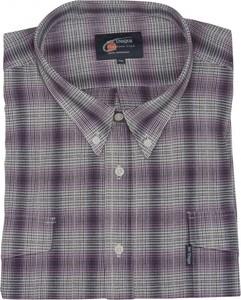 Koszula Mr.unique z bawełny z kołnierzykiem button down