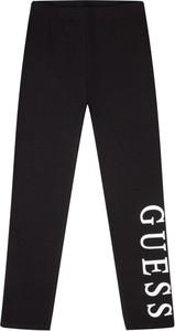 Czarne legginsy dziecięce Guess