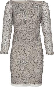Sukienka Heine mini z okrągłym dekoltem dopasowana