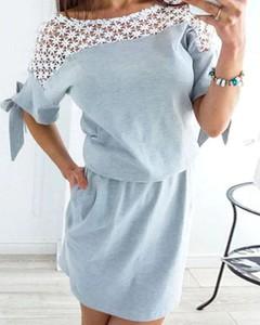 Niebieska sukienka Kendallme