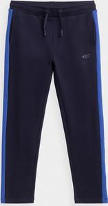 Granatowe spodnie dziecięce 4F