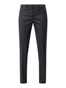 Granatowe spodnie Montego w stylu klasycznym