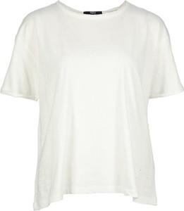 T-shirt Tigha z bawełny z okrągłym dekoltem z krótkim rękawem