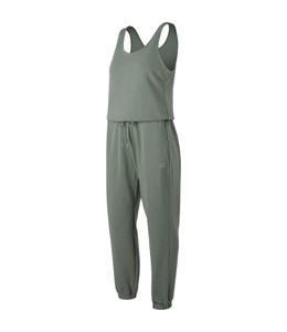 Zielony kombinezon New Balance z tkaniny w sportowym stylu