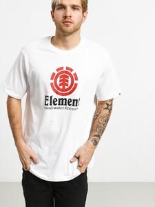 T-shirt Element z nadrukiem z krótkim rękawem z bawełny