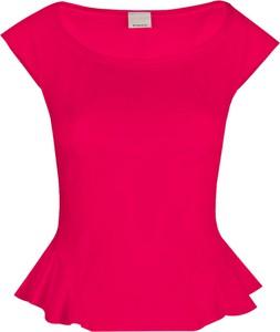 """Czerwona bluzka Pinko Bluzka """"imbastire"""" bez rękawów"""