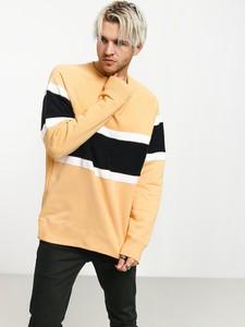 Żółta bluza Nike z bawełny