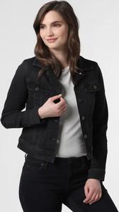 Czarna kurtka Lee w stylu casual krótka