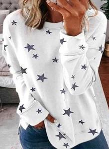 Bluzka Cikelly z długim rękawem z bawełny