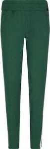 Zielone spodnie sportowe Guess Jeans w młodzieżowym stylu