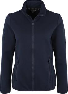 Niebieska kurtka CMP z tkaniny krótka w stylu casual