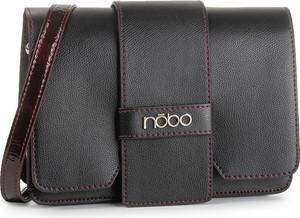 Czarna torebka NOBO matowa na ramię