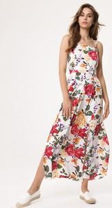 Sukienka born2be z odkrytymi ramionami w stylu boho