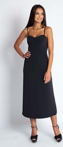 Sukienka Dursi na ramiączkach z dekoltem w kształcie litery v