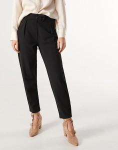 Czarne spodnie Reserved w stylu klasycznym