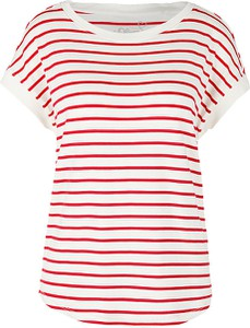 T-shirt S.Oliver z krótkim rękawem w stylu casual