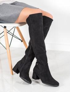 Czarne kozaki Czasnabuty za kolano