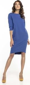 Sukienka Tessita midi prosta z bawełny