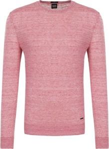 Sweter BOSS Casual z lnu w stylu casual