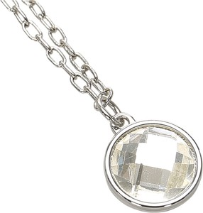 Dior Silver-Tone Charms Necklace Metal Brass