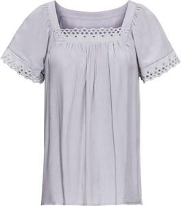 Fioletowa bluzka bonprix BODYFLIRT w stylu casual