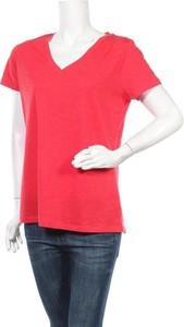 T-shirt Mossimo z dekoltem w kształcie litery v