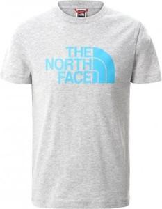 T-shirt The North Face z krótkim rękawem w młodzieżowym stylu
