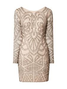 Sukienka Lace & Beads z długim rękawem