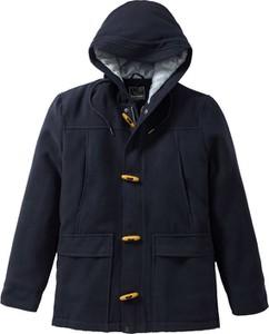 Niebieska kurtka bonprix RAINBOW z wełny
