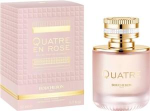 Boucheron, Quatre En Rose Florale, woda perfumowana, spray, 50 ml