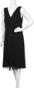 Sukienka Debenhams z dekoltem w kształcie litery v midi bez rękawów