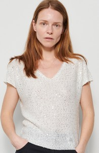 Srebrna bluzka Reserved