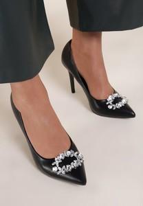 Czarne szpilki Renee w stylu klasycznym