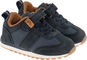 Granatowe buty sportowe dziecięce Cool Club sznurowane