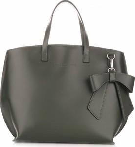 Czarna torebka VITTORIA GOTTI w stylu casual