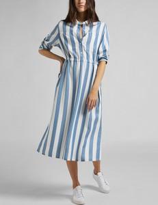 Niebieska sukienka Lee